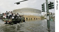 Hurricane Katrina Disaster in Louisiana